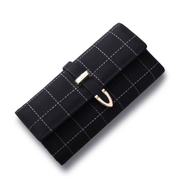 lady long wallets coin purse leather women wallet purse wallet female card holder vintage lady clutch purse carteira feminina (430358156) photo