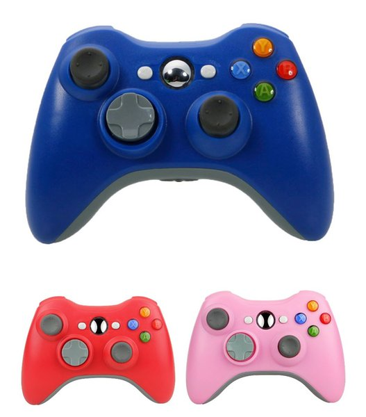 U b wirele   game pad controller for u e with xbox 360  black blue and pink without retail boxe