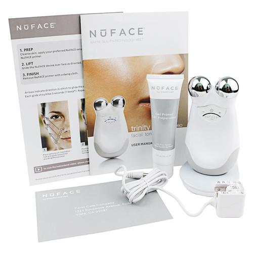 Nuface trinity pro facial trainer kit anti aging nuface trinity pro big package kin care tool dhl