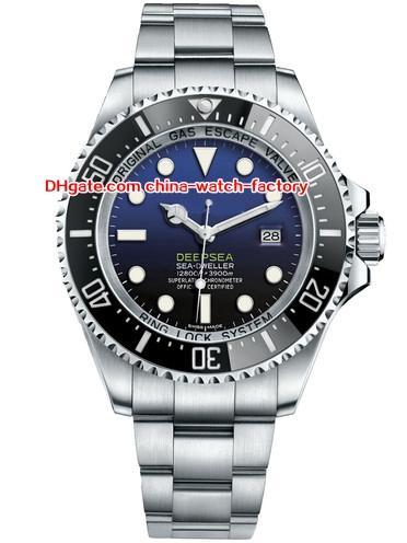 12 стиль высокое качество Вечный 44 мм морской житель 116660 D-синий 40 мм 116600 43 мм 126600 52 мм керамические Азии 2813 автоматические мужские часы