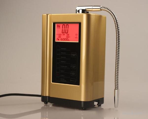 Alkaline water ionizer water ionizer machine di play temperature intelligent voice y tem 110 240v gold blue white