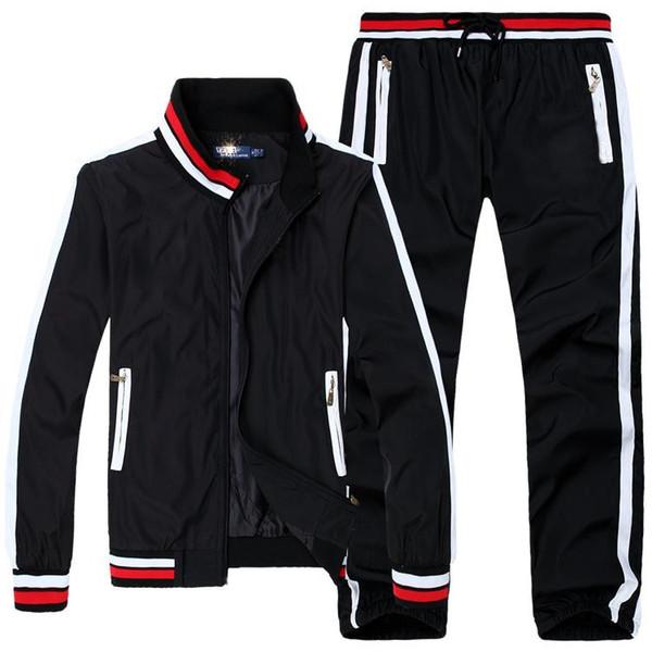 Оптом свитер самые модные мужские свитера, свитер, черный, белый, осень-зима, мужские suitjogging костюм, мужчины ' s свитер костюм.