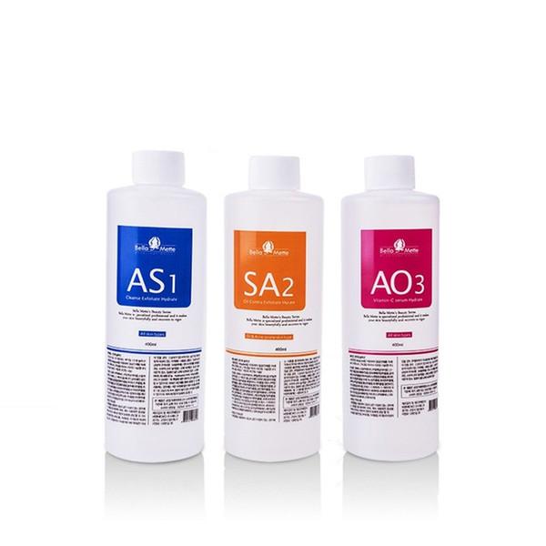 Aqua peeling olution 400ml per bottle aqua facial erum hydra facial erum for normal kin for hydro facial dermabra ion