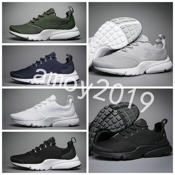 New 2018 pre to fly ultra olympic br q men women running hoe navy black fa hion ca ual pre to men trainer port neaker ize 36 45