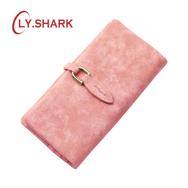 ly.shark woman wallet female purse women holder phone coin purse clutch organizer leather ladies walet long (424463636) photo