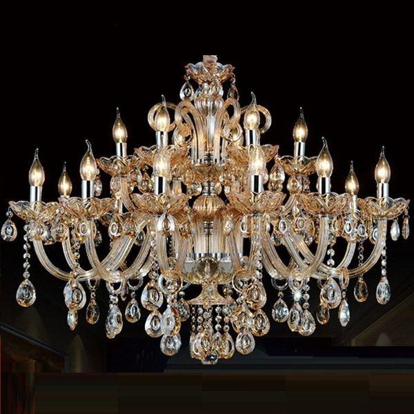 Современный хрустальная люстра освещение для гостиной Спальня Кристалл K9 люстра кулон современный Кристалл лампы люстры огни фото