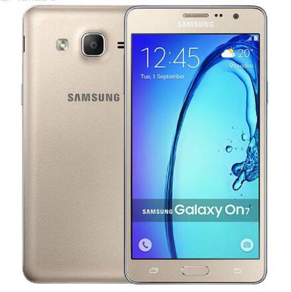 Original unlocked  am ung galaxy on7 g6000 mobile phone dual  im 5 5 quot  3000mah 13mp 4g lte quad core refurbi hed phone