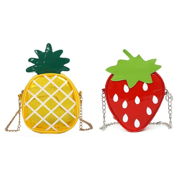 thinkthendo cute women girls fruit shoulder bag messenger tote purse crossbody bags handbag mini purse (420272851) photo