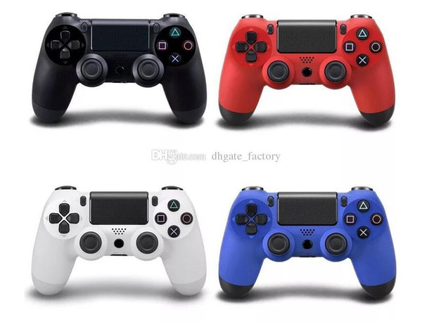 Wirele bluetooth p 4 controller game controller for play tation 4 p 4 joy tick for android video computer game 4 color drop hip