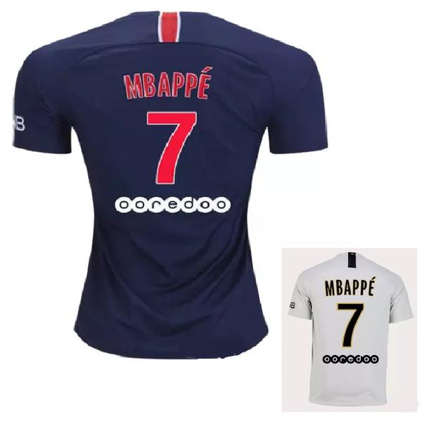 2018 2019 p g mbappe pari neymar jr di maria occer jer ey 18 19 verratti matuidi cavani zlatan maillot de foot cami a football hirt