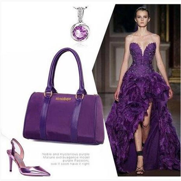 2018  6pcs women handbag single shoulder bag messenger hobo satchel purse tote (416256778) photo
