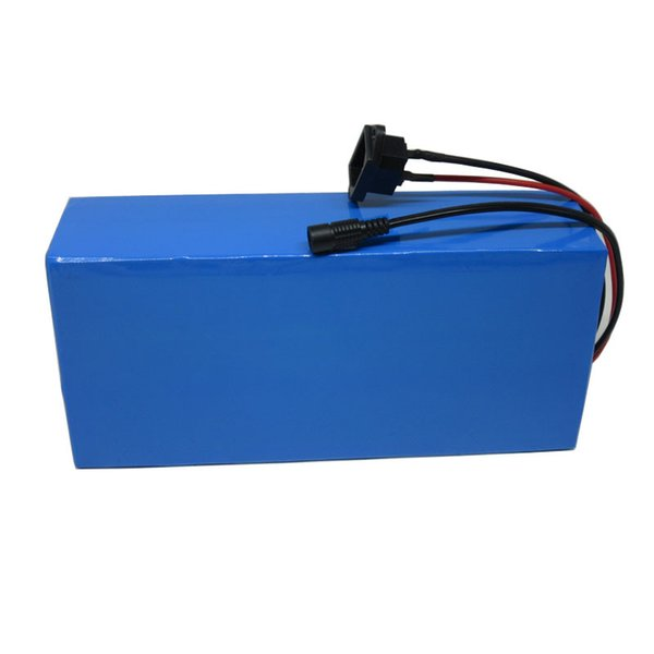 A grade 48v 25ah 1000w 1500w lithium battery pack with 3a charger with 50a bm  electric bicycle battery 48v