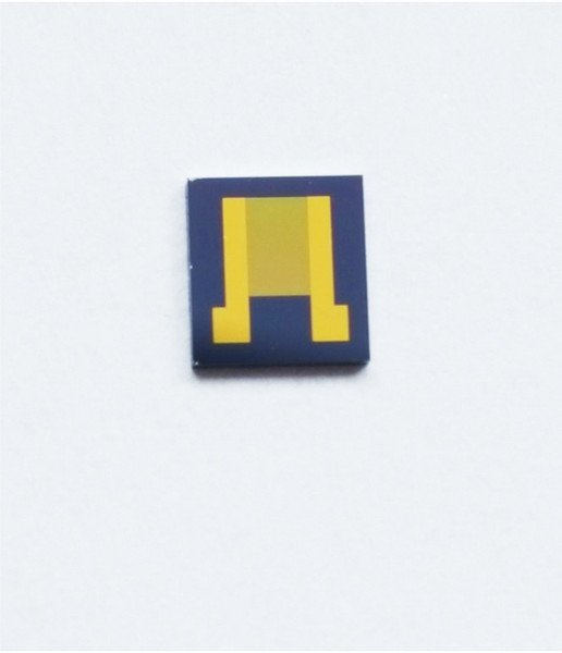 Interdigital electrodes interdigitated array capacitor high precision silicon chip monocrystalline silicon gold electrode 3um