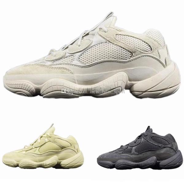 Wave Runner 500 Kanye West Desert Rat Super Moon Yellow DB2966 Blush DB2908 Utility Black F36640 Women Men Running Shoes Sports Sneakers