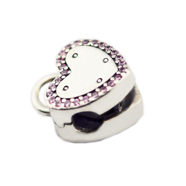 День святого Валентина Аутентичные 925 стерлингового серебра замка Ваше обещание фото