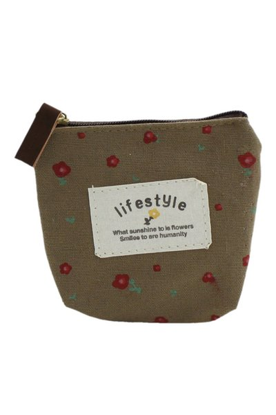 wholesale- lady small canvas purse wallet coin (407761104) photo