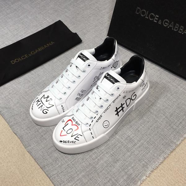 ТОП Люксовый бренд кожаная повседневная обувь мужская Дизайнерские кроссовки му