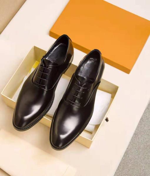 Новый дизайн высокого класса люкс мужская обувь высокое качество удобные мода на