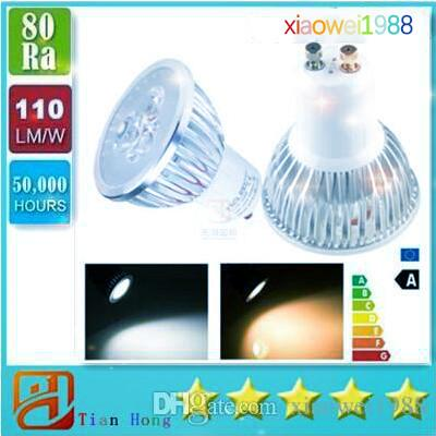 Dimmable Epistar 9W 3X3W GU10 LED Spot Light Ceiling Bulb Warm White LED Spot Lamp 3years Warranty