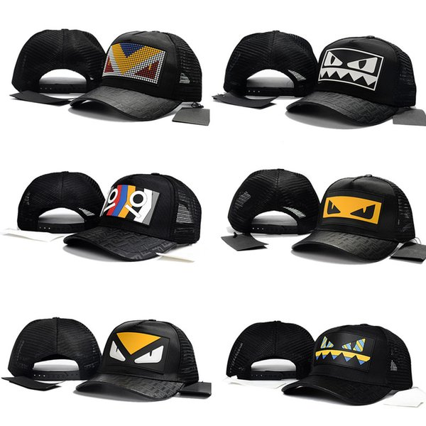 Famou italy f brand adult youth ummer cap fa hion de ign pring autumn mon ter eye hat luxury men women ca ual ball cap funny me h hat