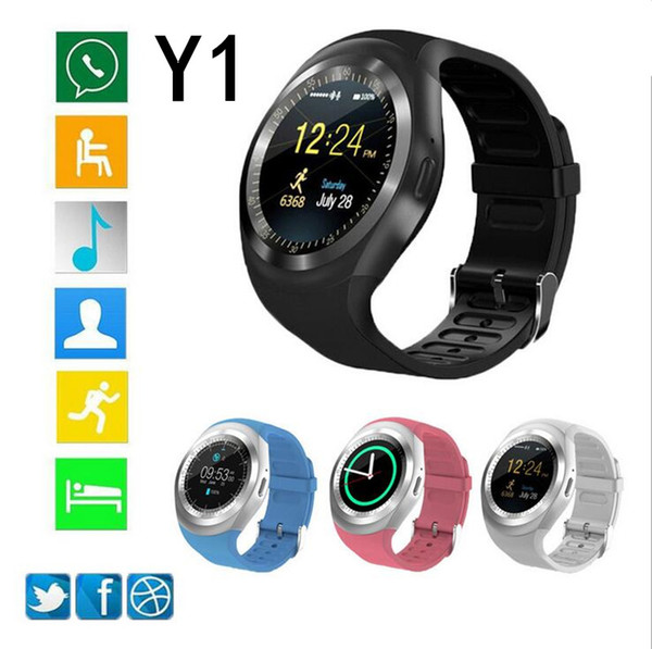 New arrival  mart watch y1 1 54 quot  touch  creen fitne   activity tracker  leep monitor for android cellphone for apple iphone