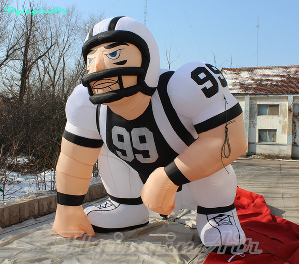 3m american football adverti ing inflated player cu tom inflatable football player inflation rugby player