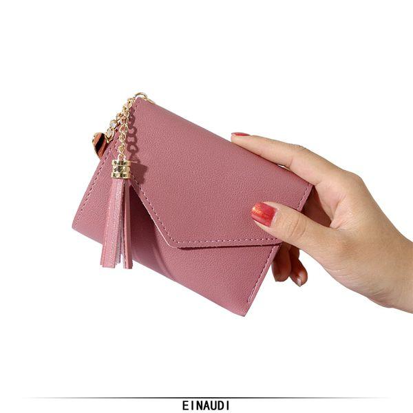 women small wallet female fashion purse 2018 brand ladies mini money bag fashion girl short clutch pretty lady purse card holder (427833684) photo