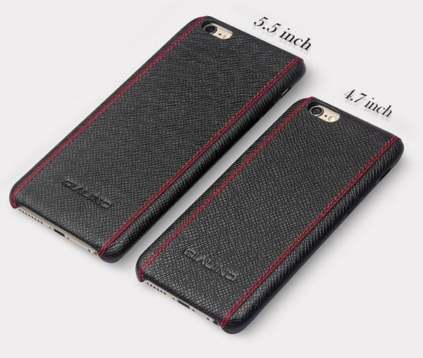 Ca e for iphone 6 4 7 5 5 ultra lim fa hion back cover luxury cro pattern leather ca e for iphone 6 plu