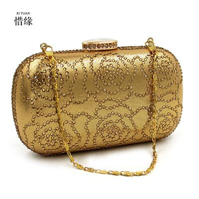 xiyuan brand 2017 girl new ladies evening party small clutch bag eveningbag bridal purse handbag evening bags bolsas feminina (415023734) photo