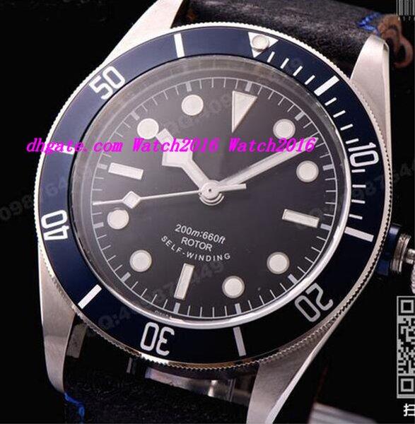 Роскошные часы мужские механические автоматические мужские часы Мужские спортивные часы Self-wind наручные часы Азия 2836 X 79220B мужские часы фото