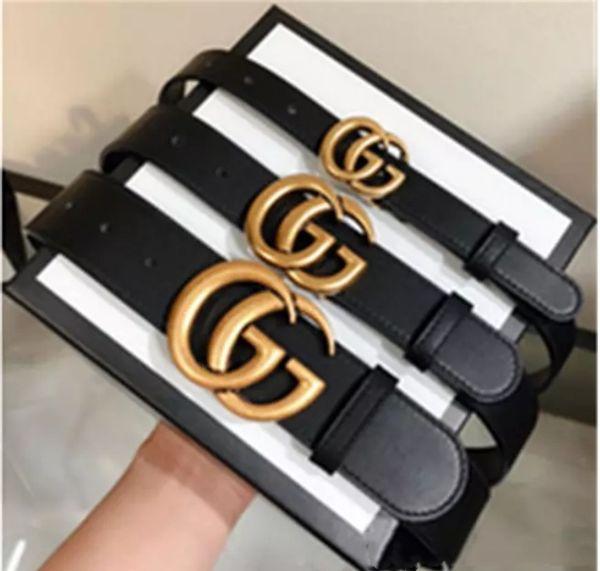 2019 fa hion luxury belt luxury buckle leather belt men women belt whole ale delivery