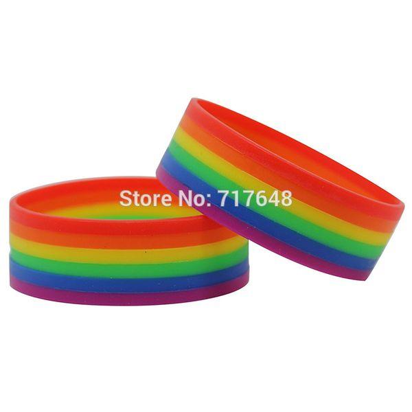 1000pcs_striped_layer_rainbow_gay_wristband_silicone_bracelets_by_fedex