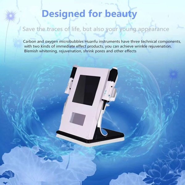 2018 home u e rf machine 3 in 1 co2  uper facial oxygen lifting tripolar rf anti wrinkle reomoval deep moi turizing  kin care beauty machine