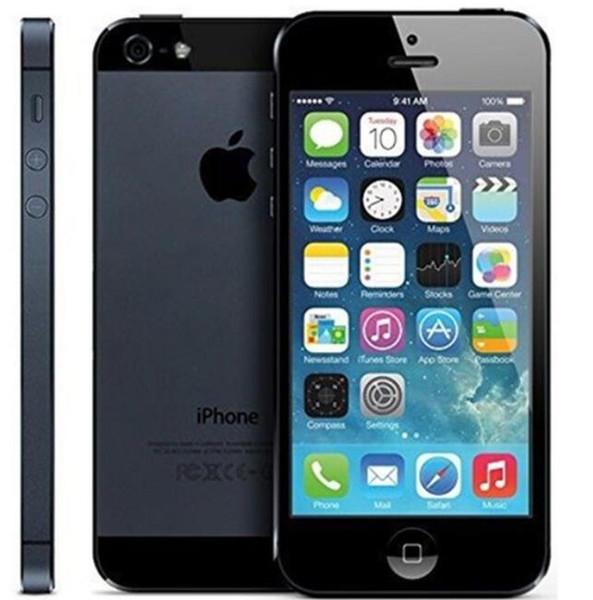 used original apple iphone 5 unlocked cell phone ios 10 dual core 16gb/32gb/64gb 8mp