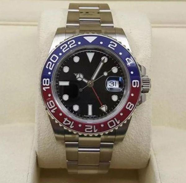 Человек 116719 керамика Pepsi ободок хорошее качество мужские часы красно-синие часы о фото