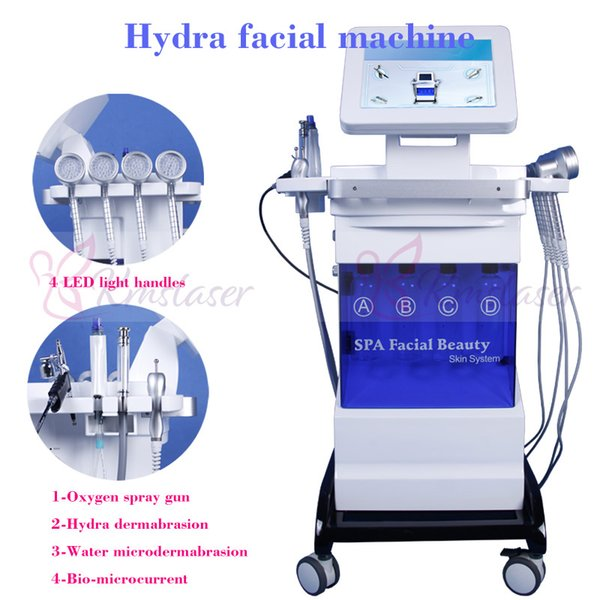8 in 1 hydra facial water microdermabra ion  pray vacuum black head removal diamond  kin peeling  kin rejuvenation wrinkle removal machine