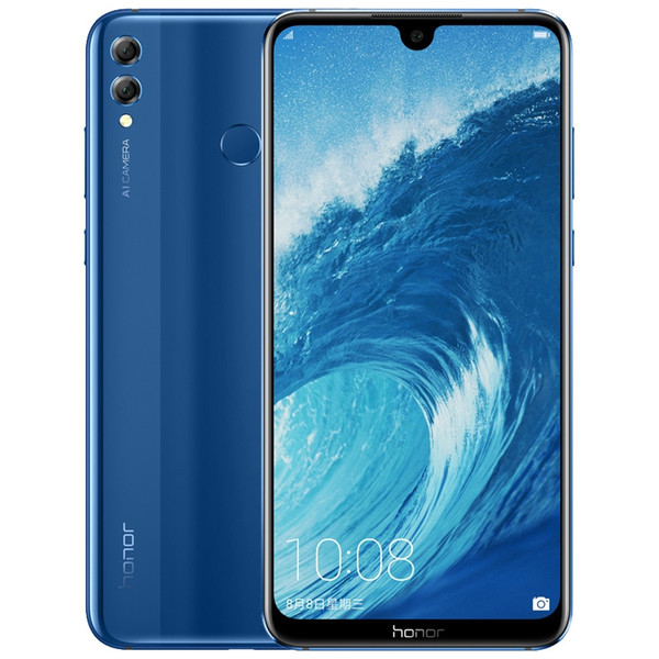 Original huawei honor 8x max 4g lte cell phone 4gb ram 64gb 128gb rom  napdragon 636 ocra core 7 12 inch full  creen 16 0mp ota mobile phone