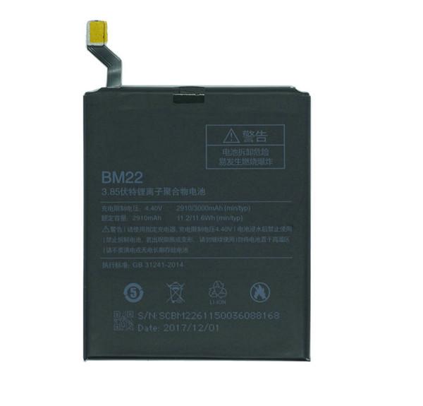 1x 2910mAh / 11.2Wh BM22 / BM 22 Сменный литий-полимерный аккумулятор мобильного телефона для X фото
