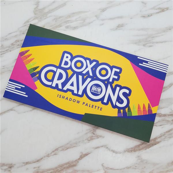 2018 box of crayon eye hadow i hadow palette 18 color himmer matte eye hadow palette makeup eye hadow dhl