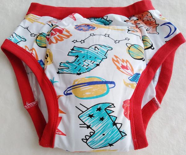 Printed rocket training pant abdl cloth diaper baby diaper lover underpant