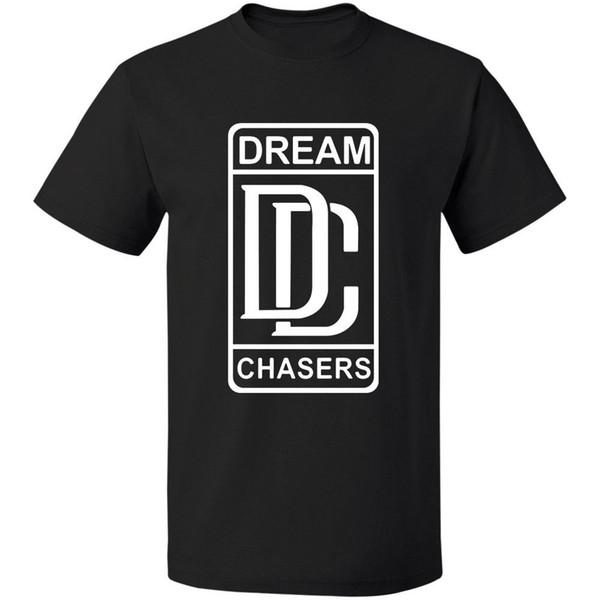 Retno Meek Mill - Dream Chasers логотип тройник S - 3xl 100% хлопок Бесплатная доставка хлопок футбо