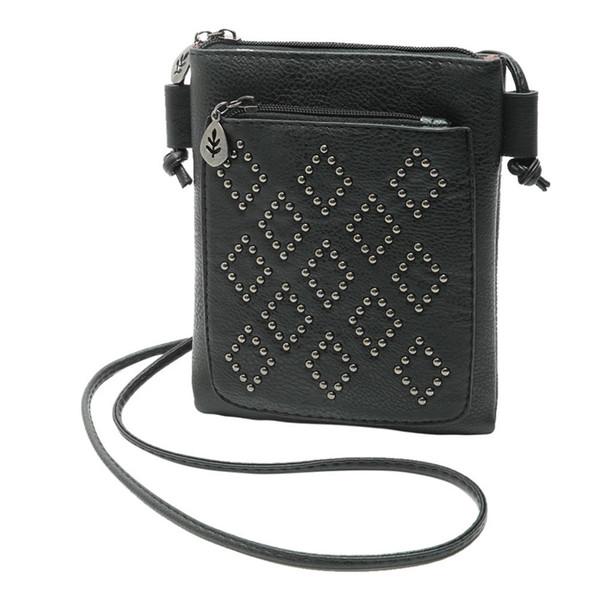 women's pu leather purse hobo satchel cross body string small shoulder bags tote purse messenger bag dropship (427052669) photo