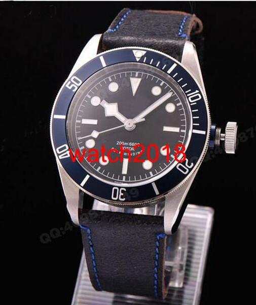 Роскошные Часы Мужские Механические Автоматические Мужские часы Мужские Спортивные часы Self-ветер Наручные часы Азиатские 2836 X 79220B Мужские часы Часы фото