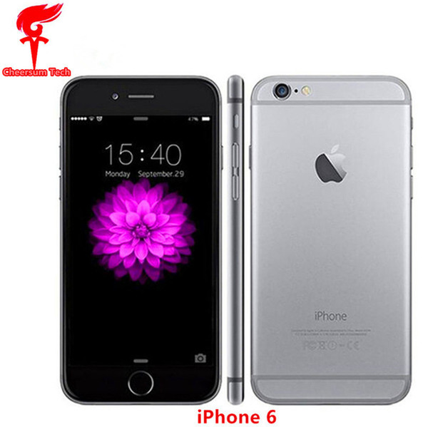 Refurbi hed iphone 6 6 plu  cellphone 16gb 64gb 100  original apple iphone 6 with touch id function 4 7 quot  5 5  039   039   martphone wit