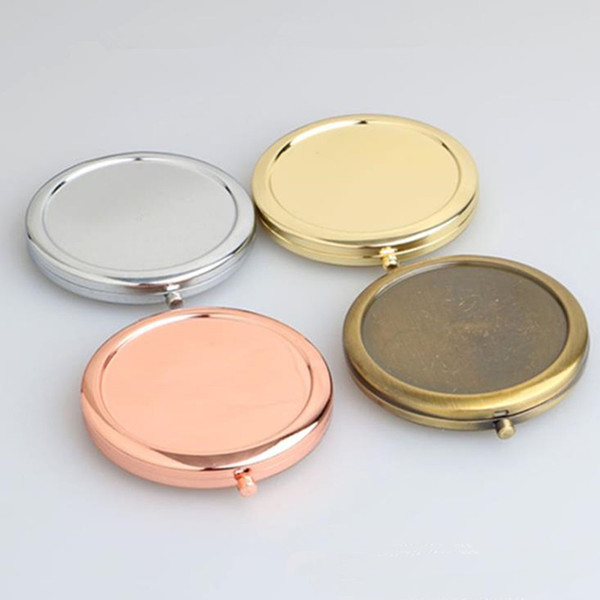 Portable folding mirror makeup co metic pocket mirror for makeup mirror beauty acce orie fa t hipping f1496