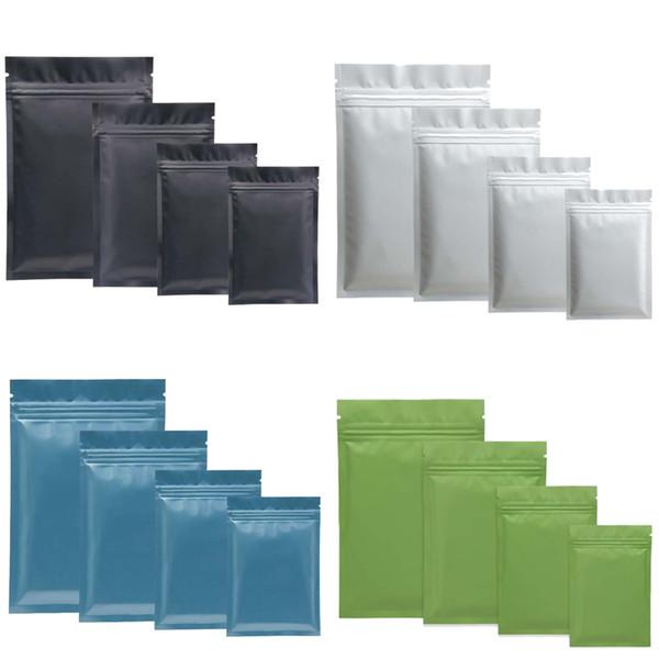 Re ealable zip mylar bag food torage aluminum foil bag pla tic packing bag mell proof pouche