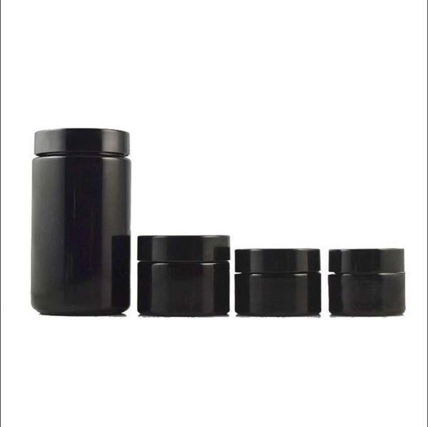 5 г 10 г 15 г черный фиолетовый стеклянная банка с черной крышкой крем для глаз крем отдельные бутылки розлива и упаковки бутылок