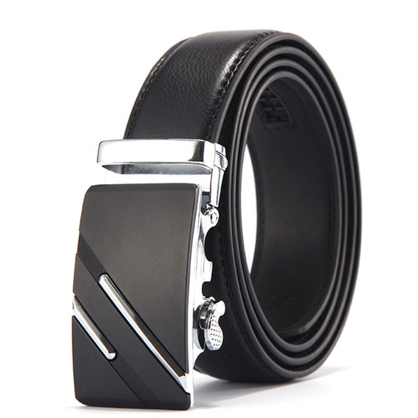Famous Brand Belt Men Top Quality Genuine Leather Belts for Men,Strap Male Metal Automatic Buckle