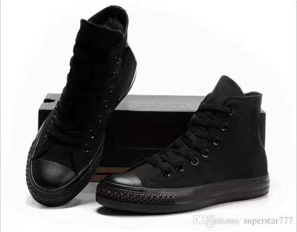 EUR46 Новая звезда высокий топ Повседневная обувь низкий верхний стиль спортивные звезды Чак классический холст обувь кроссовки conve Мужчины Женщины холст обувь падение корабль