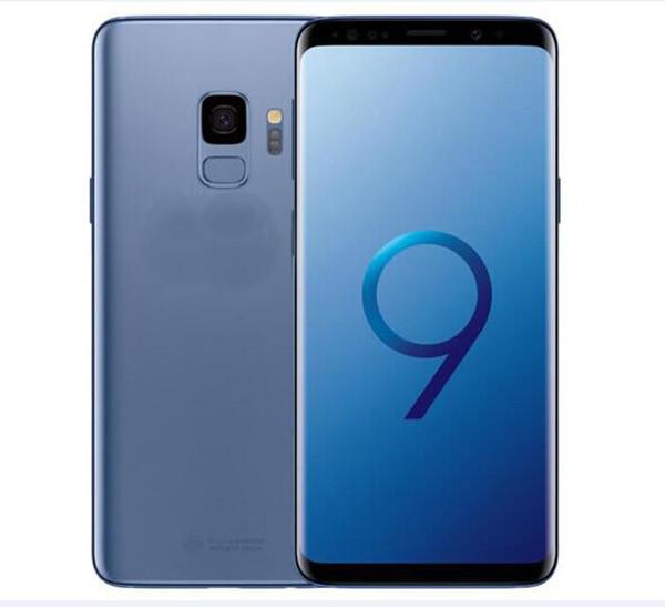 Parmak izi ile 6.2 inç S9 9 artı 9 + Ekran kavisli MTK6580 dört çekirdekli Metal Versiyonu Cep Telefonu Android Gösterisi sahte 4G LTE Smartphon